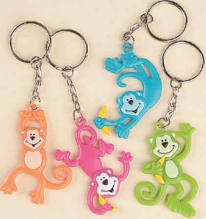 Monkeys Keychains