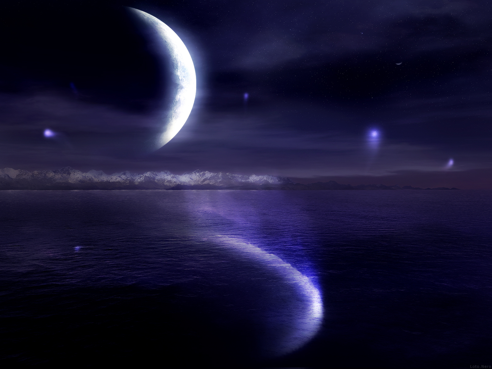 Moon Images MoonLight HD Wallpaper And Background Photos