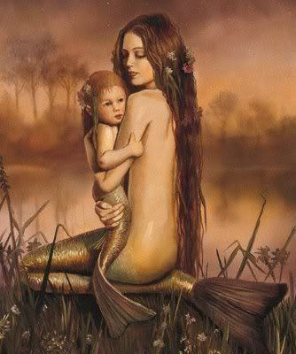 Mother And Child - mermaids Photo