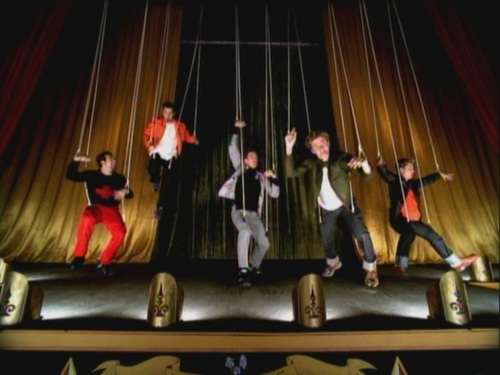 NSYNC wallpaper entitled NSYNC - Bye, Bye, Bye - Musica Video