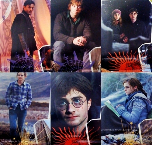 New Harry Potter and the Deathly Hallows: Part I promos from 2011 দেওয়াল calendar