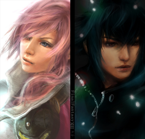 Noctis and Lightning