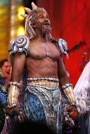Norm Lewis as King Triton