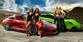 PORSCHE VS. LAMBORGHINI - sports-cars photo
