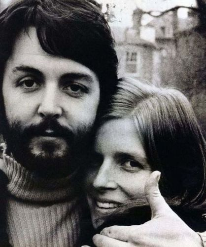 Paul & Linda - the-beatles Photo