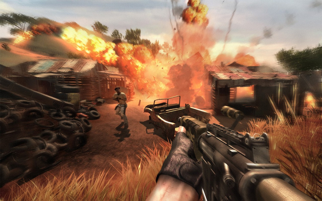 Playing With Fire In Farcry 2 Farcry 2 Image 15773061 Fanpop
