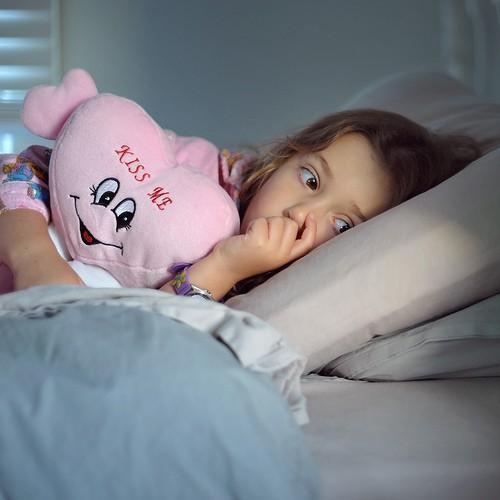 Renesmee at bedtime