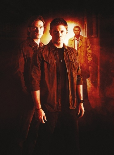 Winchester Girls Обои probably with a concert, a well dressed person, and an outerwear titled SPN Season 6 poster!!!<3