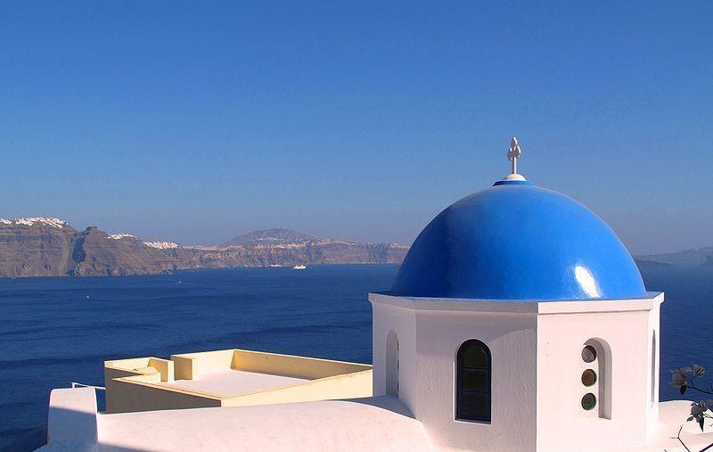 wallpaper santorini greece island - photo #32