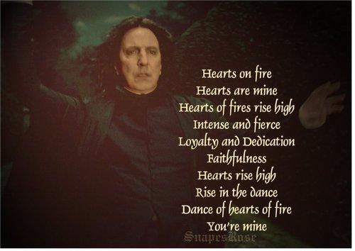 Severus- hearts