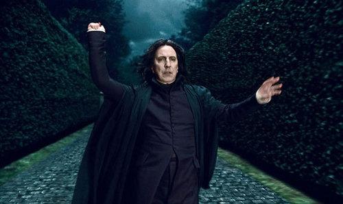 Severus snape in DH