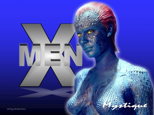 Sexy Mystique from The X-men played da Rebecca Romijn
