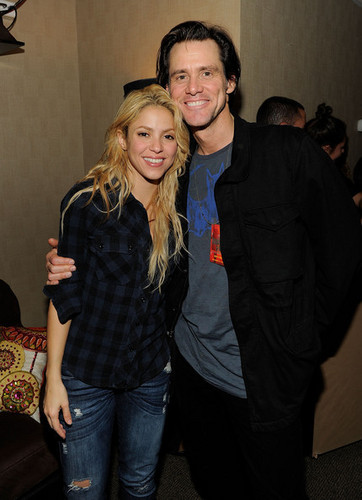 Shakira in Concert at Madison Square Garden - Backstage