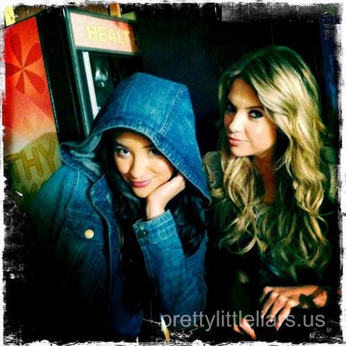 Shay Mitchell & Ashley Benson