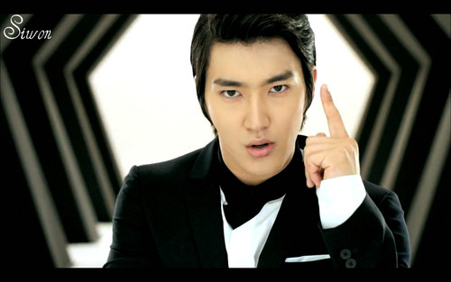 Super Junior wallpaper containing a business suit, a well dressed person, and a portrait called Siwon