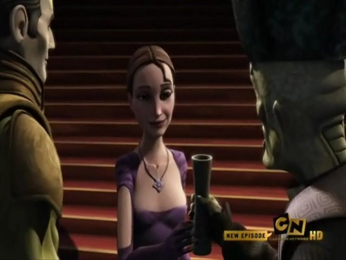 étoile, star Wars the Clone Wars Senate Spy photos