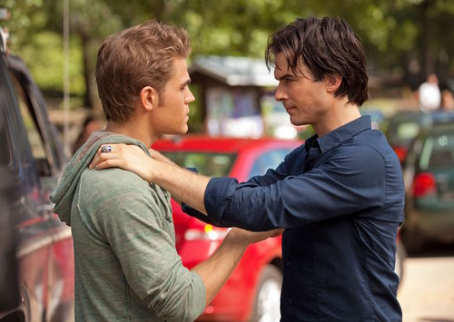 "Stefan & Damon in ""Kill o Be Killed"""