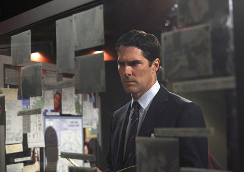 SSA Aaron Hotchner wallpaper with a business suit called The Last Word