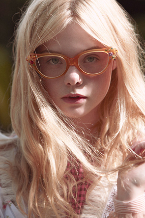 Elle Fanning Обои containing sunglasses called Todd Cole Photoshoot