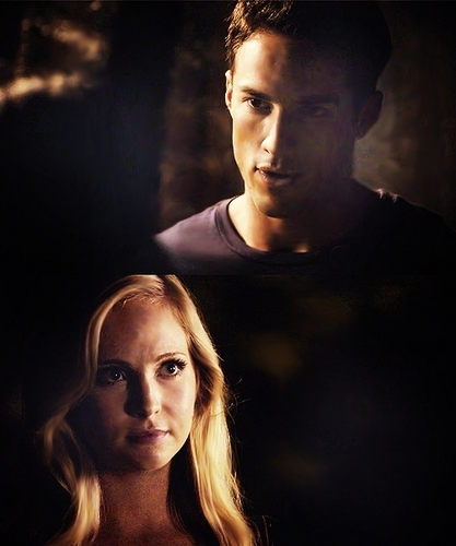 Tyler and Caroline wallpaper probably with a portrait entitled Tyler / Caroline