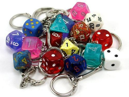 Keychains wallpaper entitled Various Dice