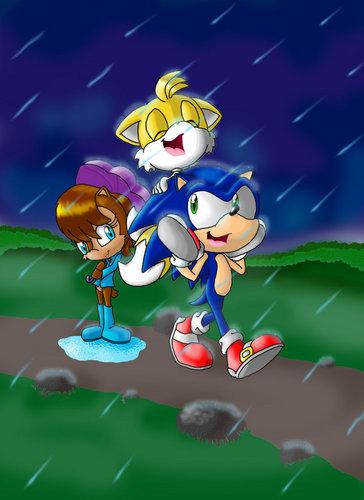 Walking in the rain DONE