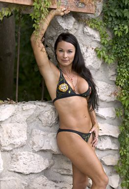 Wwe Former Diva Ivory achtergrond probably containing a bikini titled Wooing Ivory