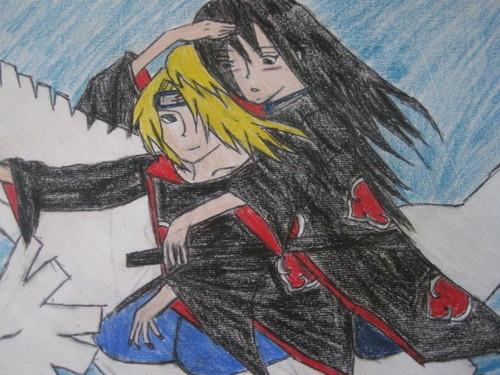 akira and deidara