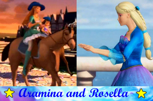 Aramina and Rosella