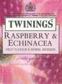 raspberry and echinacea - tea photo
