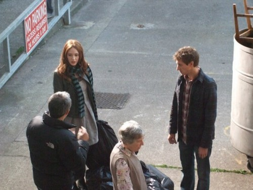 series 6 filming pictures!!