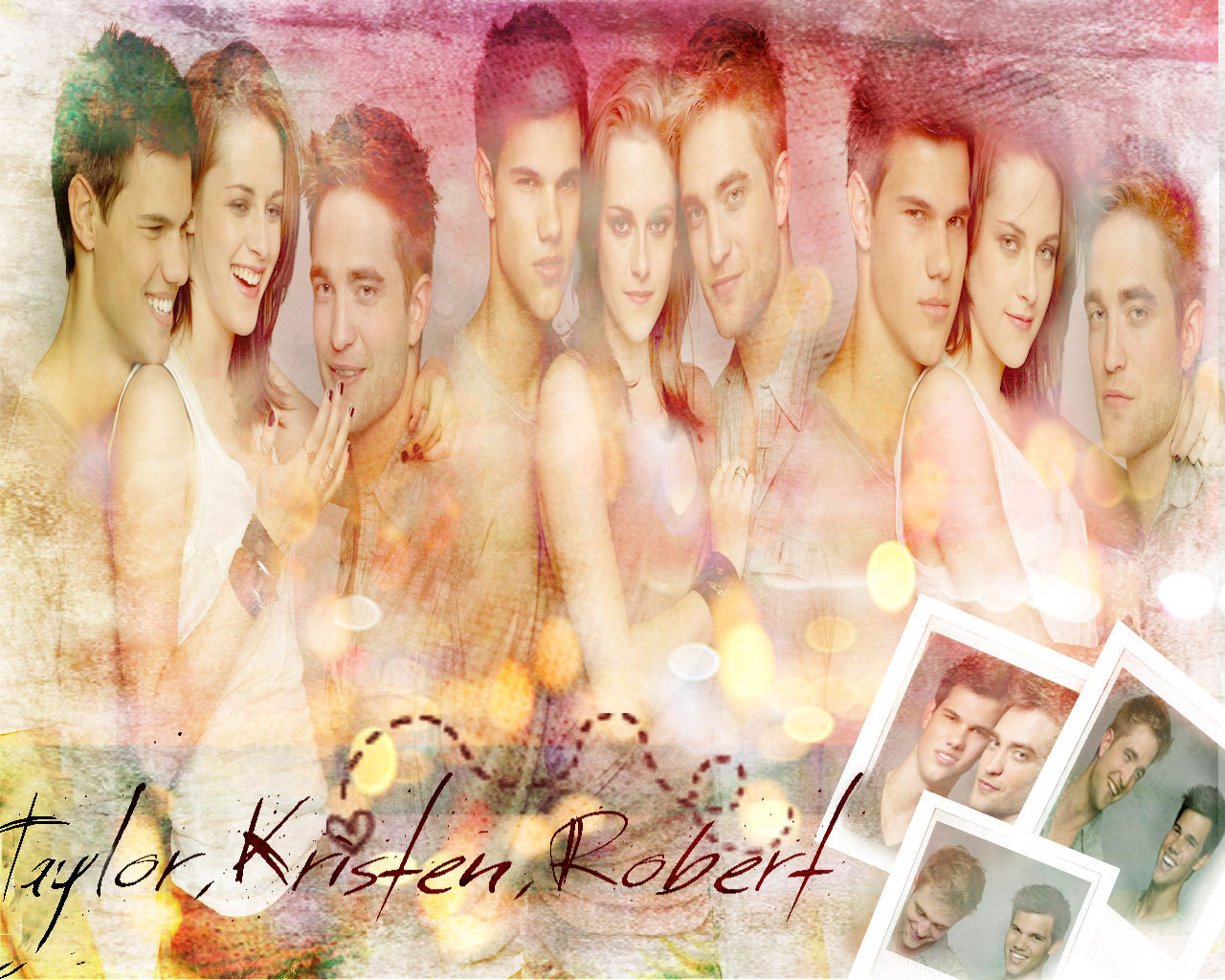taylor.kristen,robert - twilight-series wallpaper