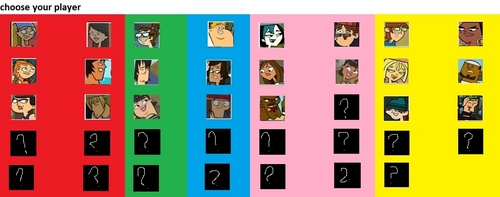 total drama the video game choose your player