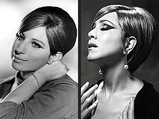 Barbra Streisand hình nền with a portrait entitled Jennifer Aniston As Barbra Streisand In Harper's Bazaar