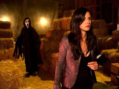 [Scream 4]Courteney Cox Screams Again