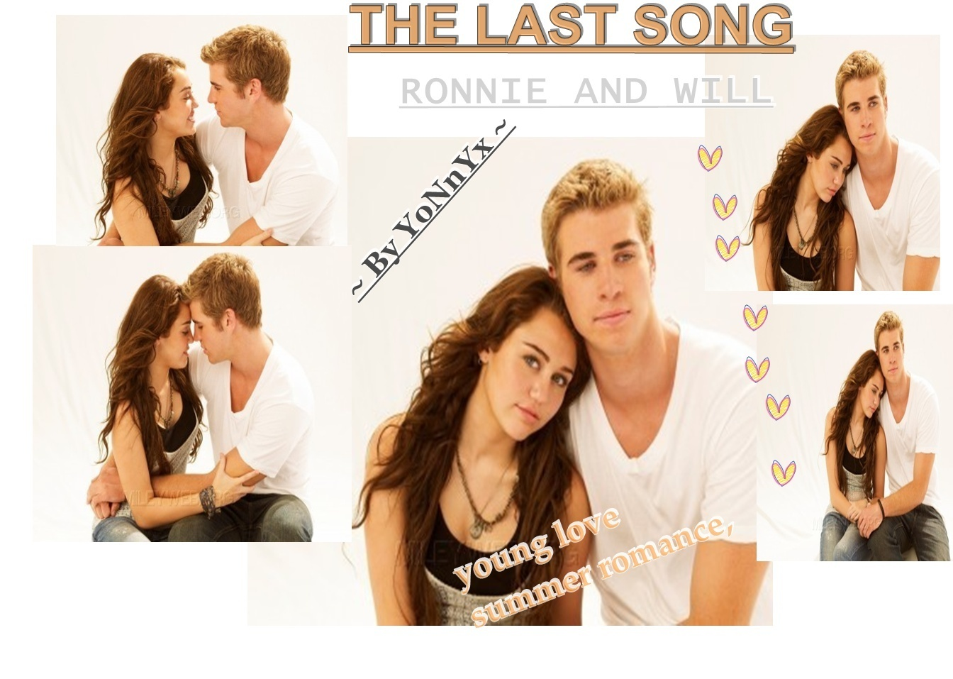 ♥The Last Song ~♥ Miley And Liam / Ronnie And Will♥ { By ...