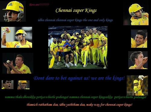 make way for csk!