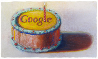 12th birthday Google