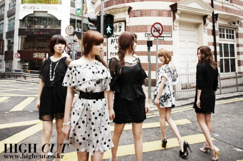 4Minute - High cut photoshoot