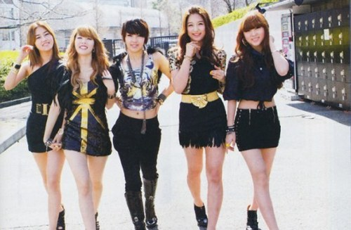 4Minute promoto pictures - japanses version Muzik