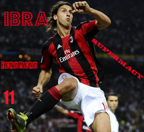 Zlatan Ibrahimovic wallpaper called AC MILAN - FENOMENO - AC MILAN