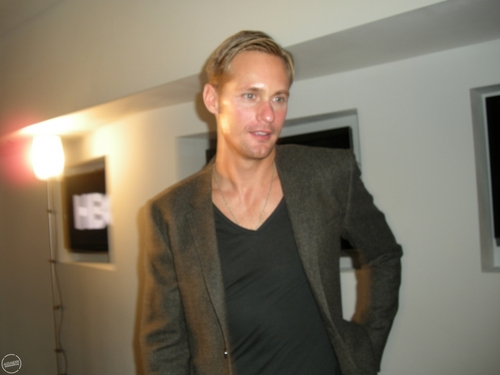 Alexander in Poland for Season 3 of True Blood (sept.28th)