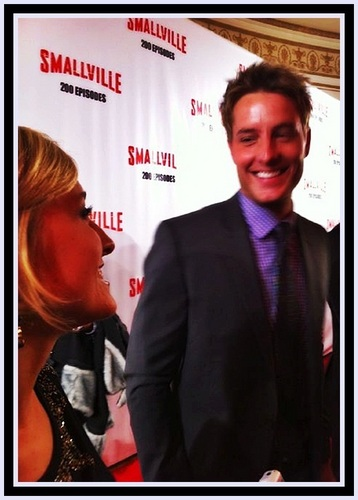 Allison Mack & Justin Hartley