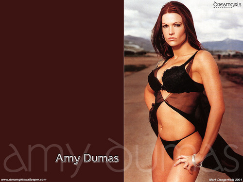 "Amy ""Lita"" Dumas Hintergrund with a bikini titled Amy"