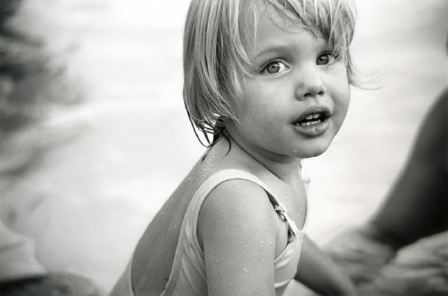 Angelina in baby