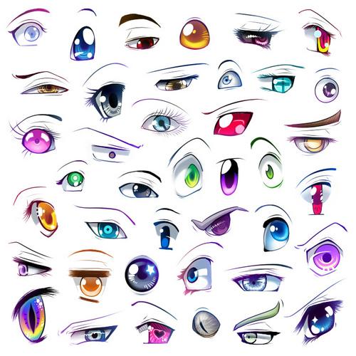 아니메 eyes