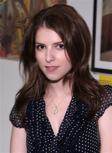 Anna Kendrick At The LIVESTRONG Foundation Benefit