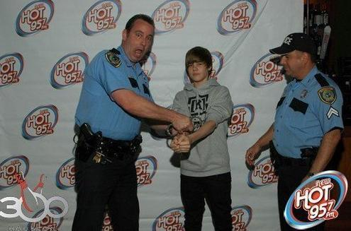 Arrested for stealing our hearts - justin-bieber Photo