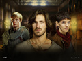 Arthur, Gwaine & Merlin - merlin-on-bbc wallpaper