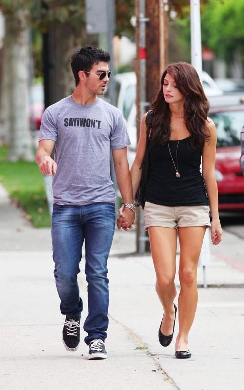 Ashley & Joe out in LA